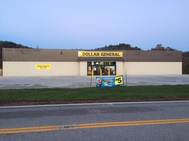 storefront view 2, dollar general, proctorville oh,, retail, retail store, retail construction, Commercial construction, commercial contractors, commercial contractors near me, commercial building construction, commercial general contractors, general contractor, retail building design, national retail contractors, construction services, building