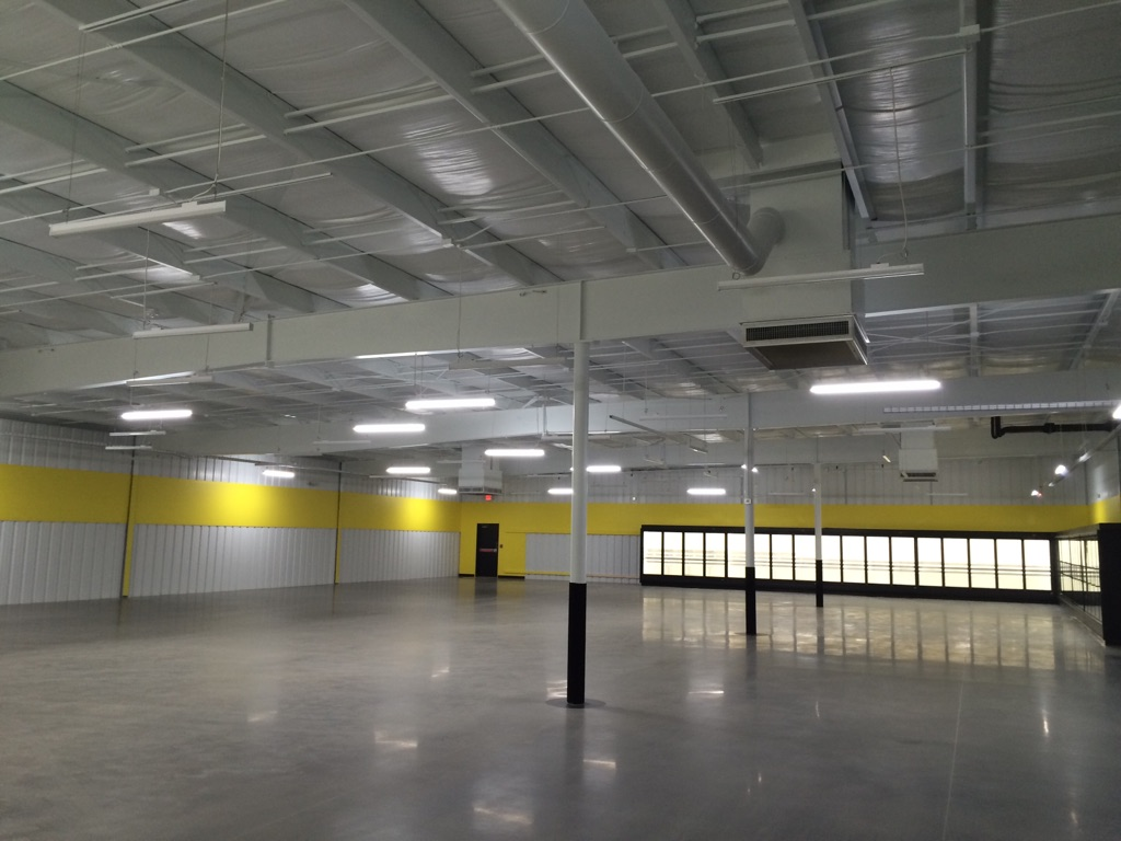 inside 2, dollar store, Ghent WV, shopping, supermarket, retail, commercial, commercial construction