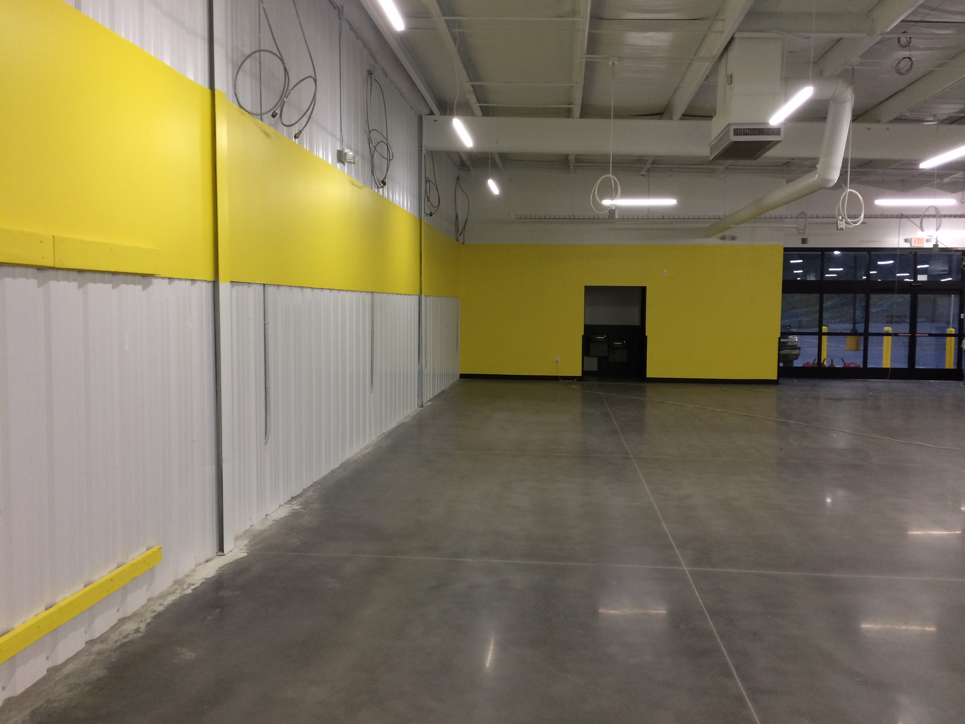 inside 2, dollar general, foster wv,, shopping, supermarket, retail, commercial, commercial construction