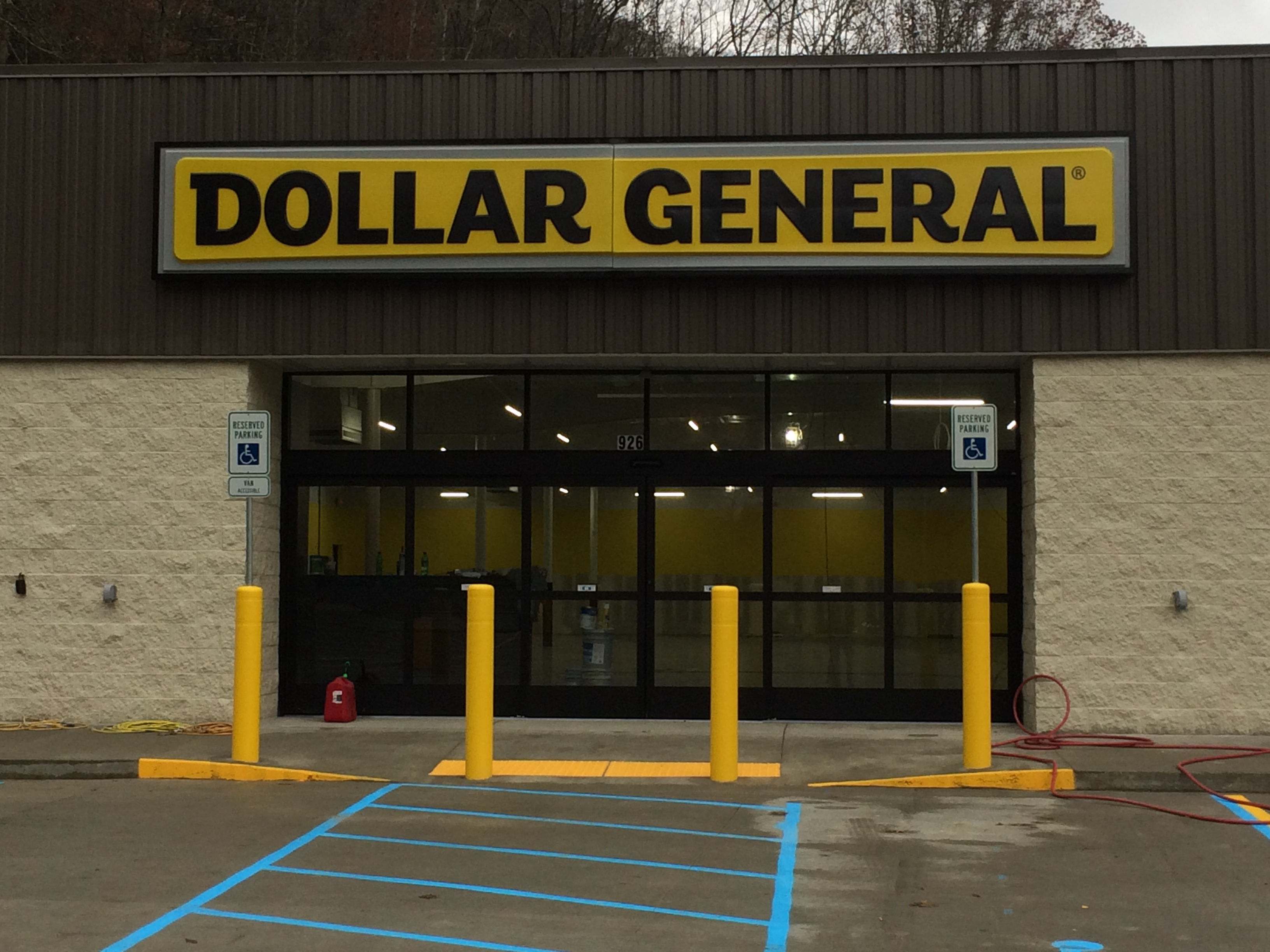 outside 1, dollar general, foster wv, shopping, supermarket, retail, commercial, commercial construction
