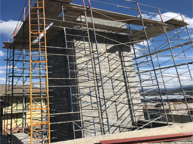concrete bricks and scaffolding, vacation lodge, pigeon forge tn, vacation, hotel, resort, Commercial construction, commercial contractors, commercial contractors near me, commercial building construction, commercial general contractors, general contractor, retail building design, national retail contractors, construction services, building
