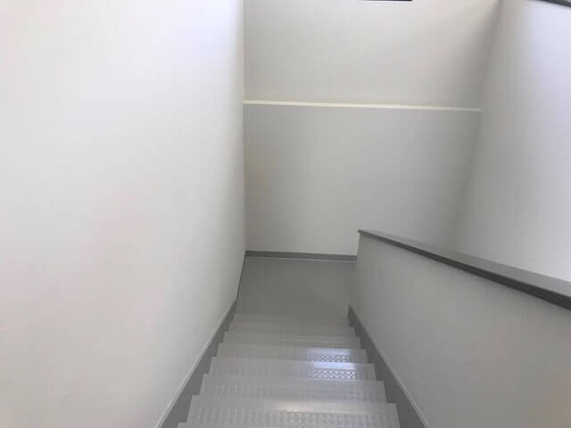 office stairwell, office builders, commercial construction, commercial general contractors