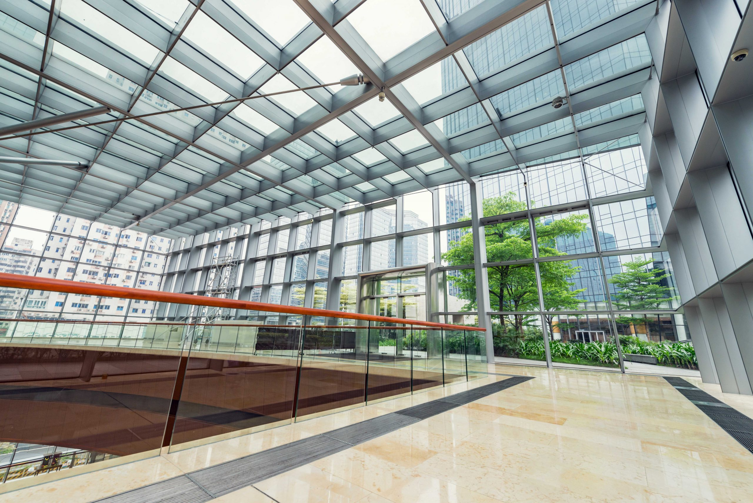 A building that was built to meet LEED certification specifications